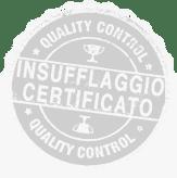 Insufflaggio Certificato   Icona certificato