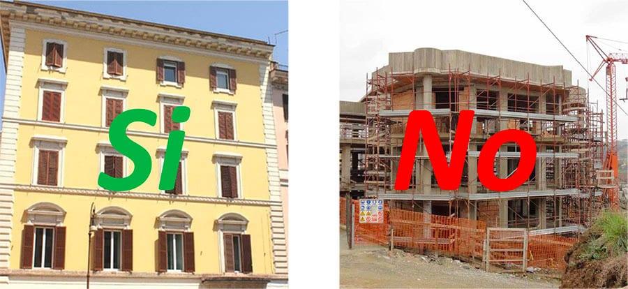 A quali edifici si applica la detrazione fiscale 65% per i lavori di Insufflaggio Certificato