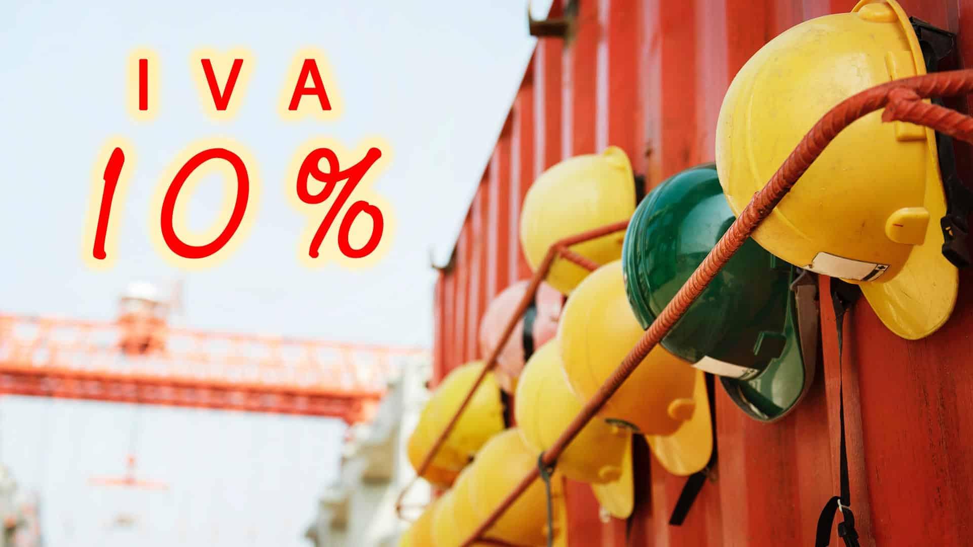 Agevolazioni Iva al 10% con Insufflaggio Certificato
