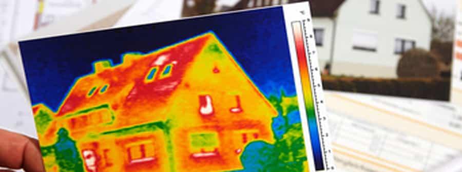 L'involucro edilizio è la pelle dell'edificio a contatto con l'ambiente esterno. Un'immagine termografica mette in evidenza eventuali criticità e punti deboli, e può essere d'aiuto per programmare un efficace isolamento termo acustico.
