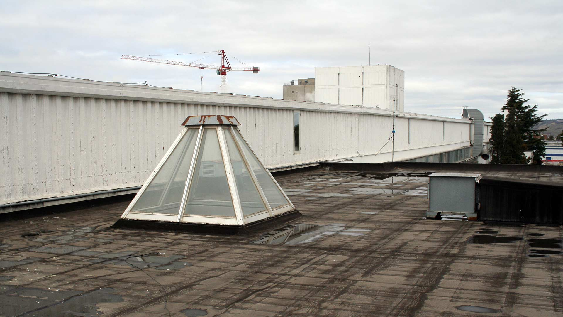 Riqualificazione di un capannone con Insufflaggio Certificato (Parte 1)
