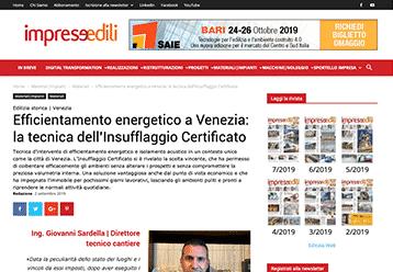 Insufflaggio Certificato | Dicono di Noi Impreseedili