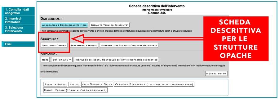 Come fare i documenti Enea: scheda descrittiva dell'intervento